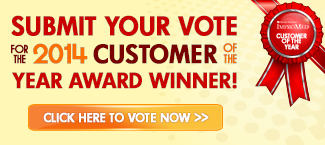 Vote for the 2014 Customer of the Year!