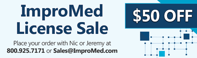 ImproMed License Sale | $50 OFF